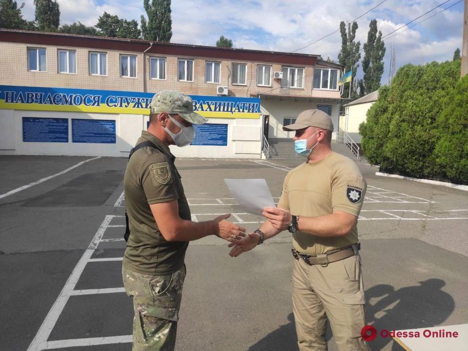 Из зоны ООС в Одессу вернулись 35 бойцов спецбатальона «Шторм» (фото)