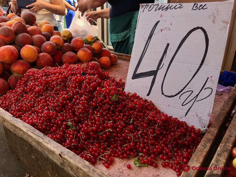 Красная смородина, крымский лук, чурчхела и фундук: воскресные цены на «Привозе»