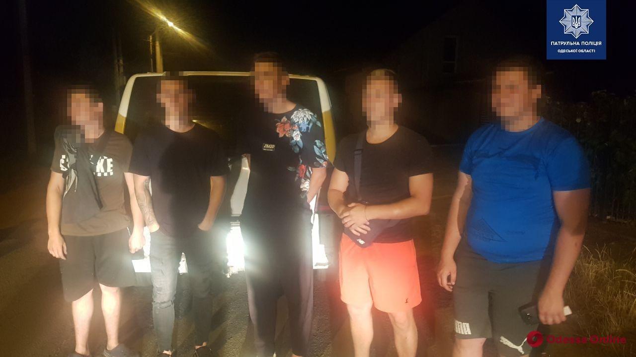 На Академика Воробьева патрульные ловили грабителей