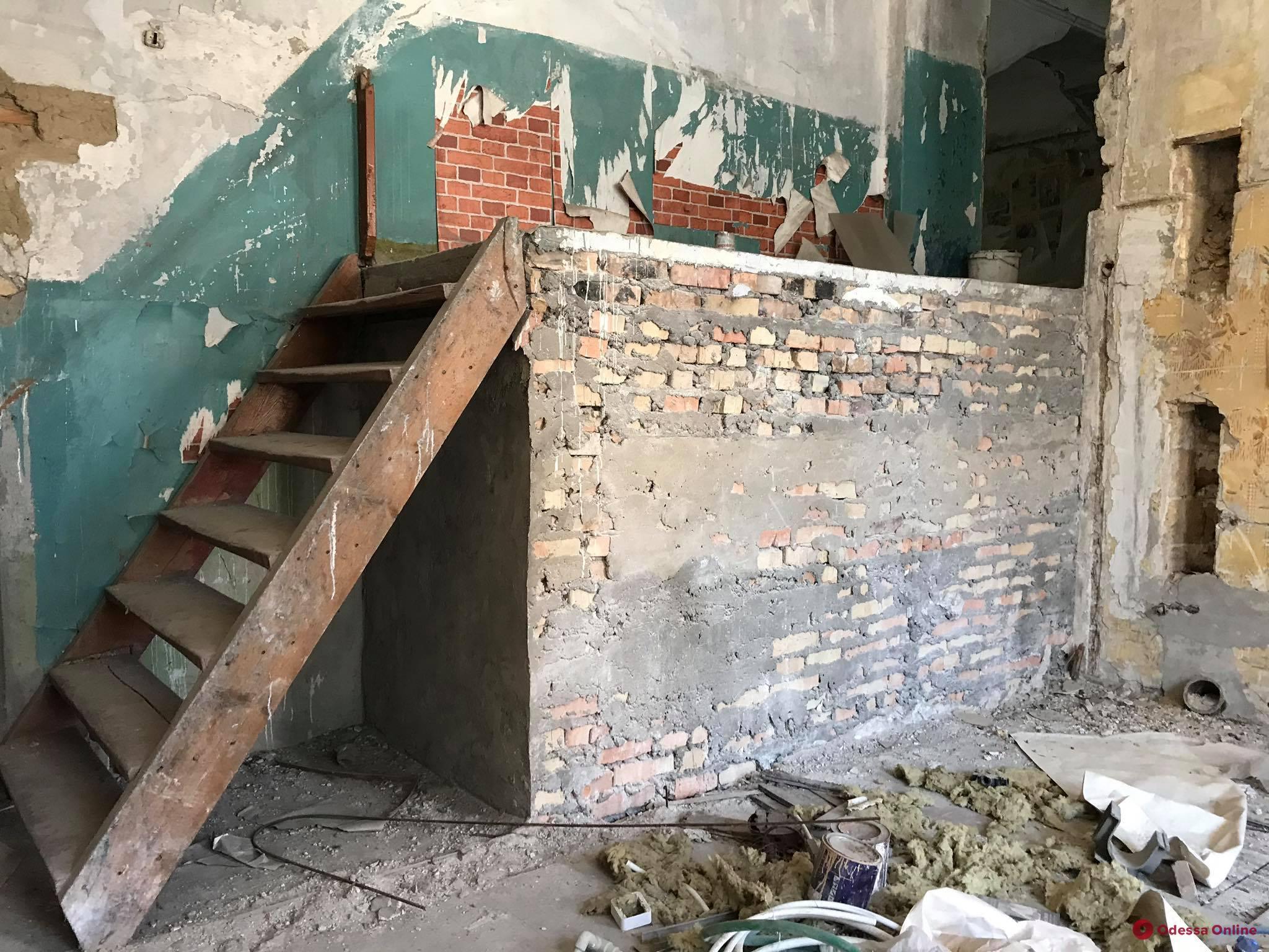 В Одессе создали комиссию по оценке состояния дома Гоголя