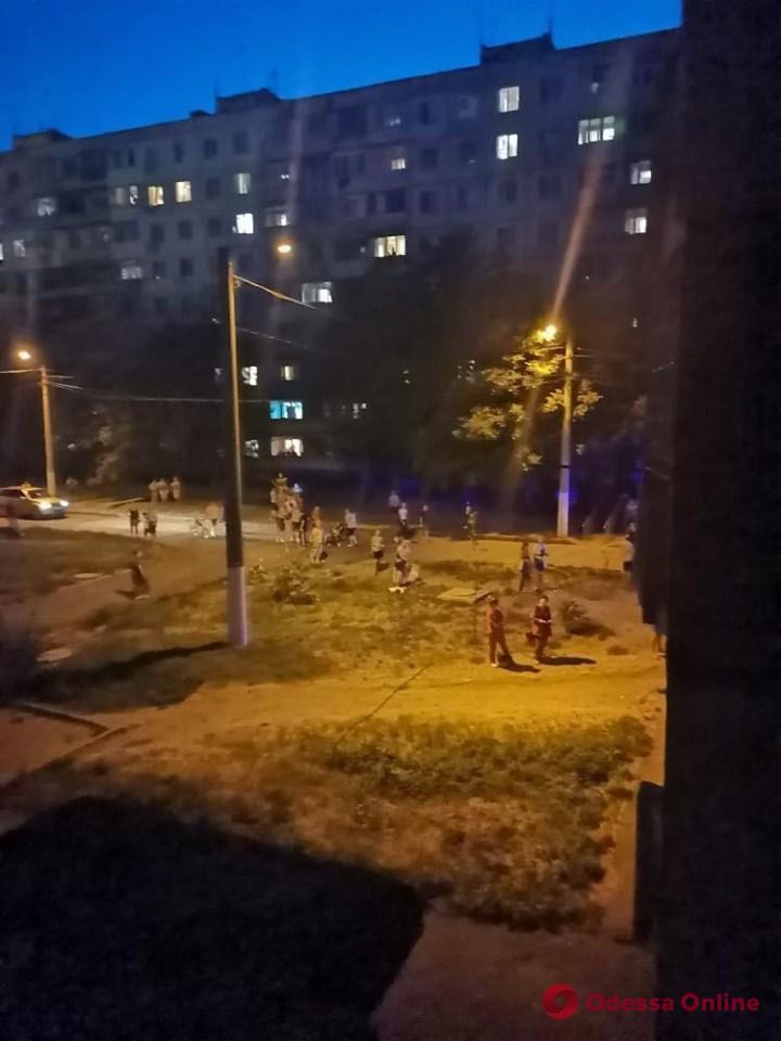 В Одессе жителей поселка Котовского напугал сильный взрыв