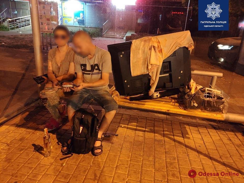 Одесский таксист помог поймать воров-квартирантов