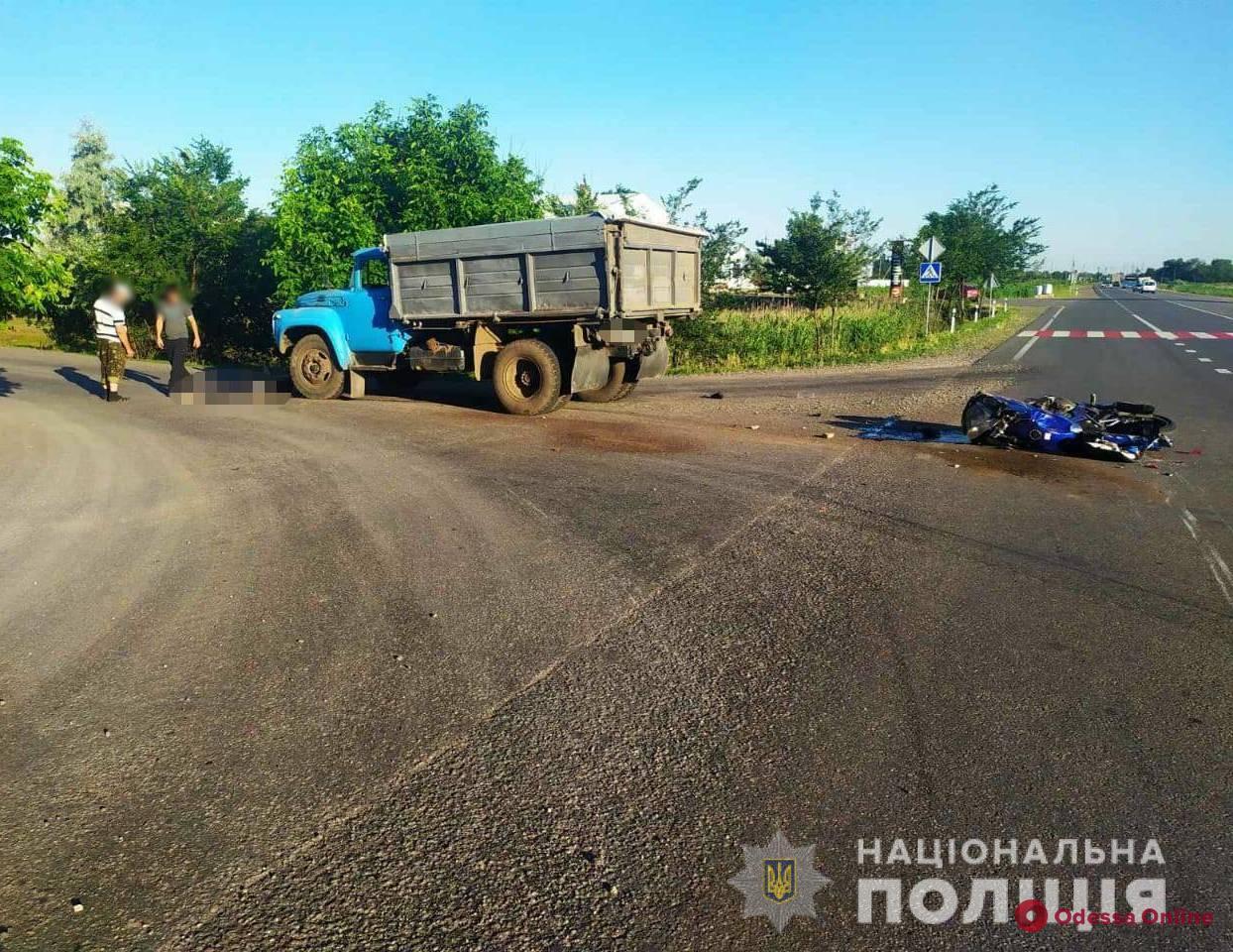В ДТП на трассе Одесса—Рени погиб мотоциклист