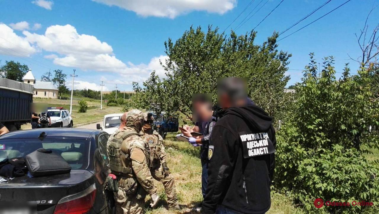 В Одесской области поймали лесничего-взяточника