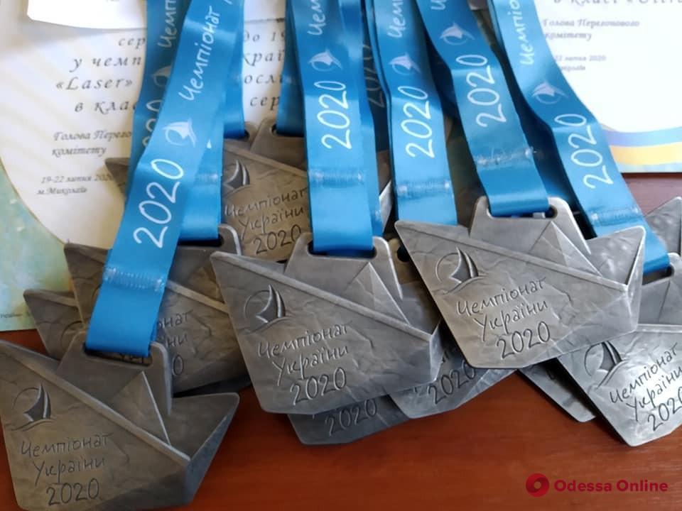 Воспитанники одесской спортшколы стали победителями чемпионата Украины по парусному спорту