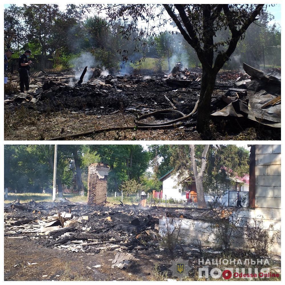 В Арцизе задержали подозреваемого в поджоге частного дома и музыкальной школы
