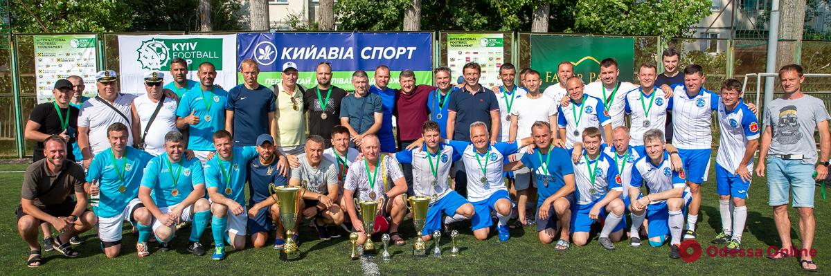 Одесские команды завоевали два комплекта медалей всеукраинского турнира по футболу 8х8 (фото, видео)