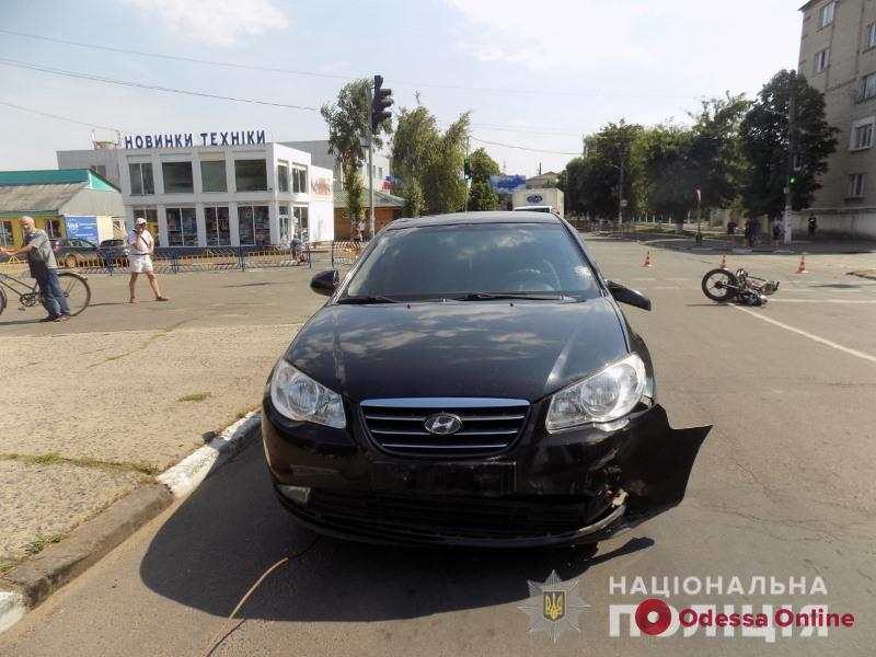 В Подольске в ДТП пострадал 16-летний мопедист