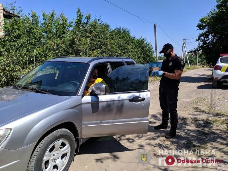 Полиция берет под контроль аварийно-опасные участки дорог в Одесской области