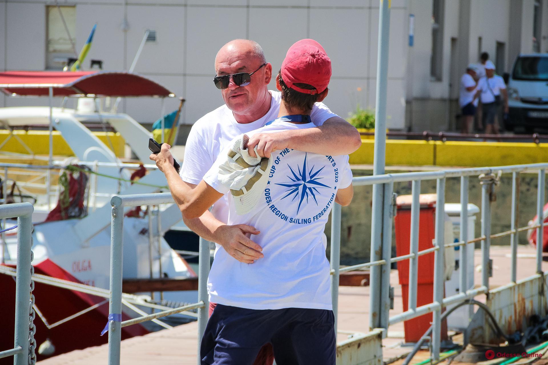 В Одессе проходит юбилейная парусная регата «Кубок портов Черного моря—2020» (фото)