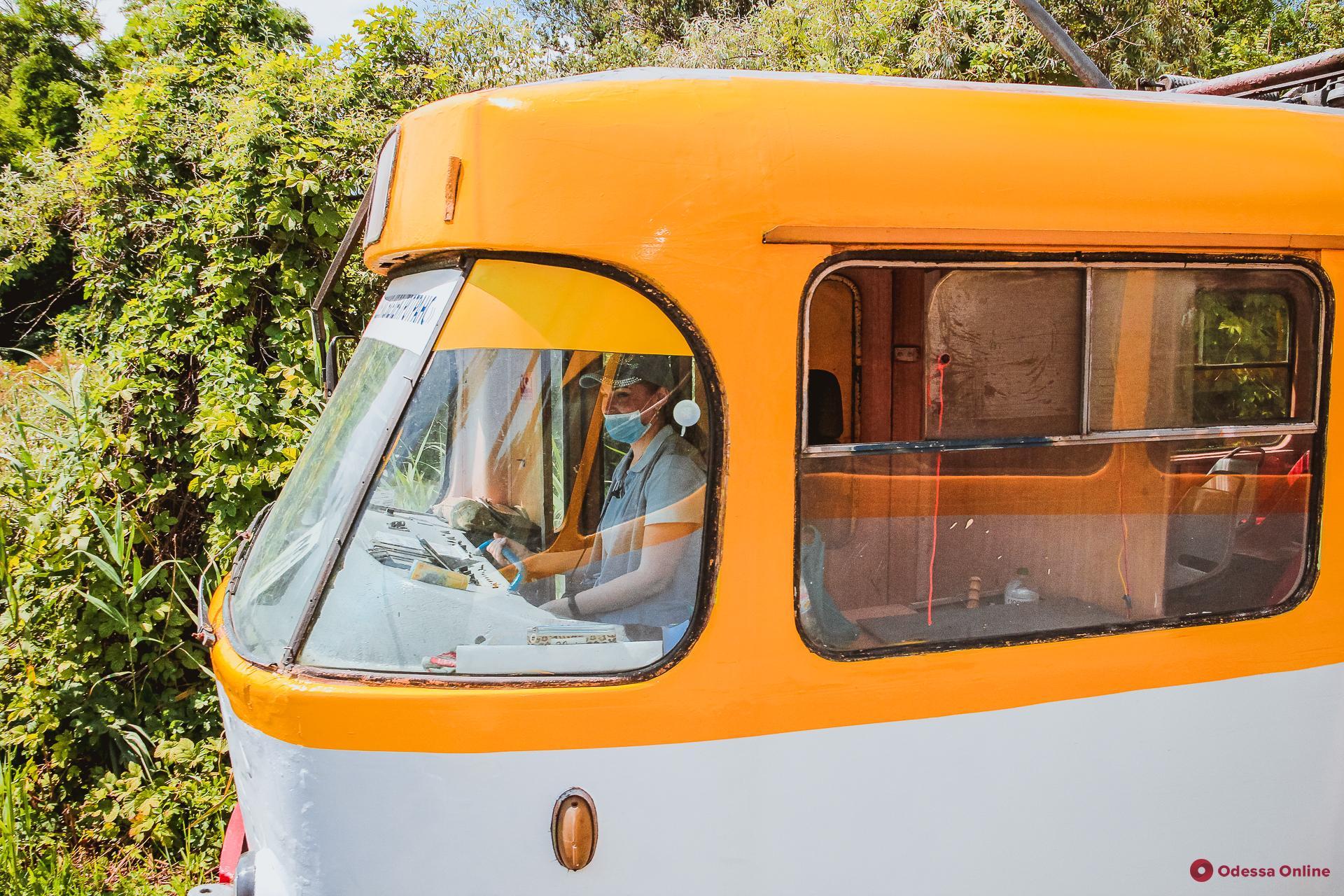 В Одессе не ходит «камышовый» трамвай