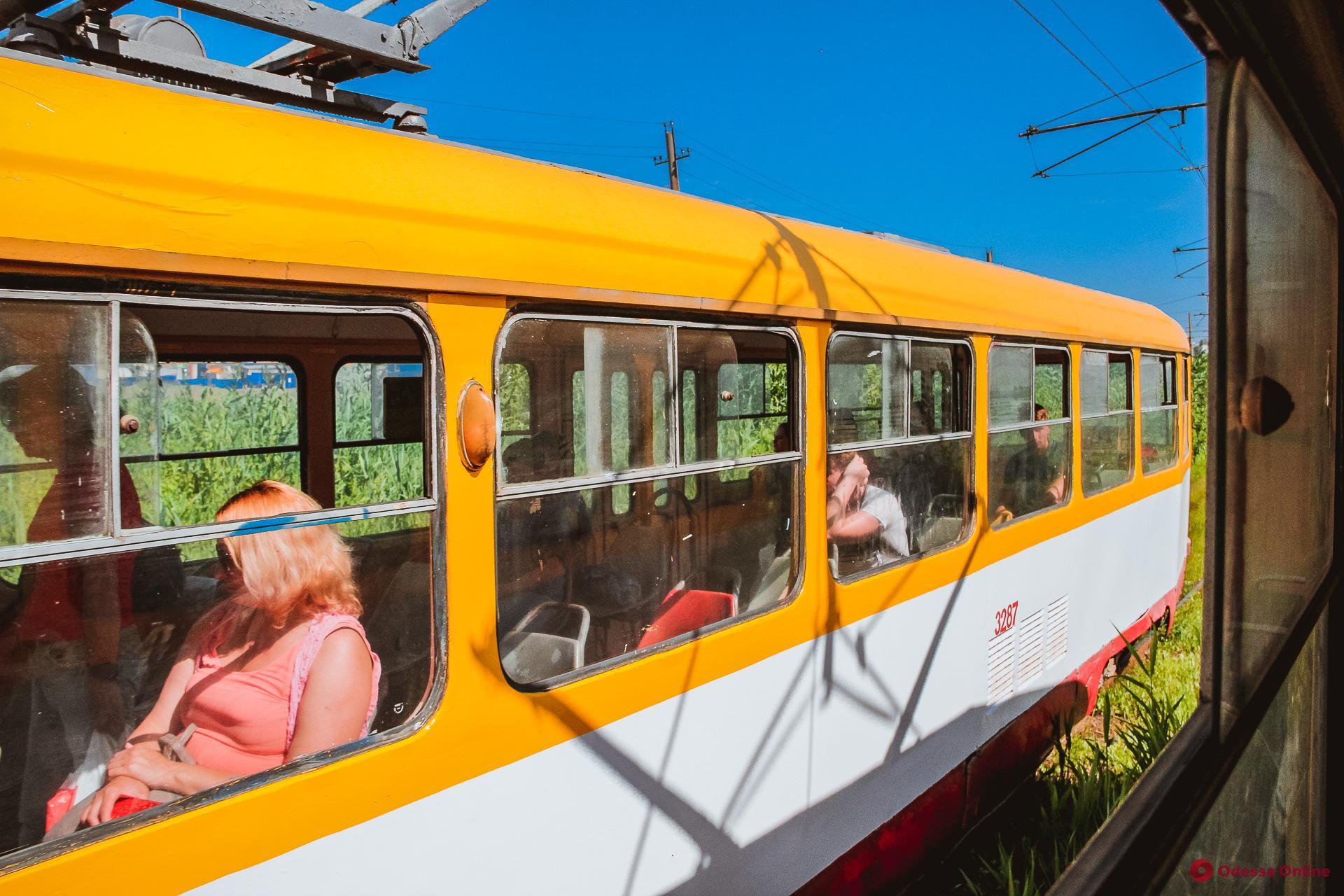 Один из самых интересных в мире трамвайных маршрутов – одесский «камышовый»