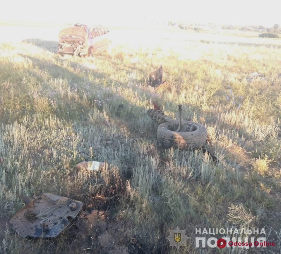 В Саратском районе произошло смертельное ДТП