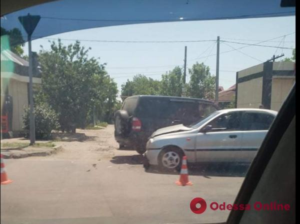 Из-за ДТП на Кишиневской образовалась пробка