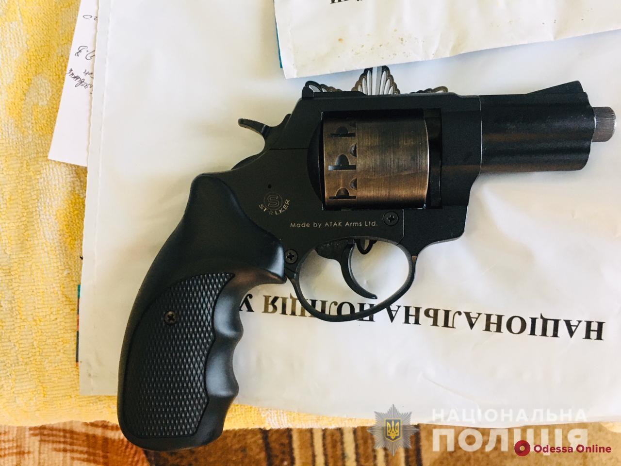 В Одессе парень во время ссоры подстрелил знакомую