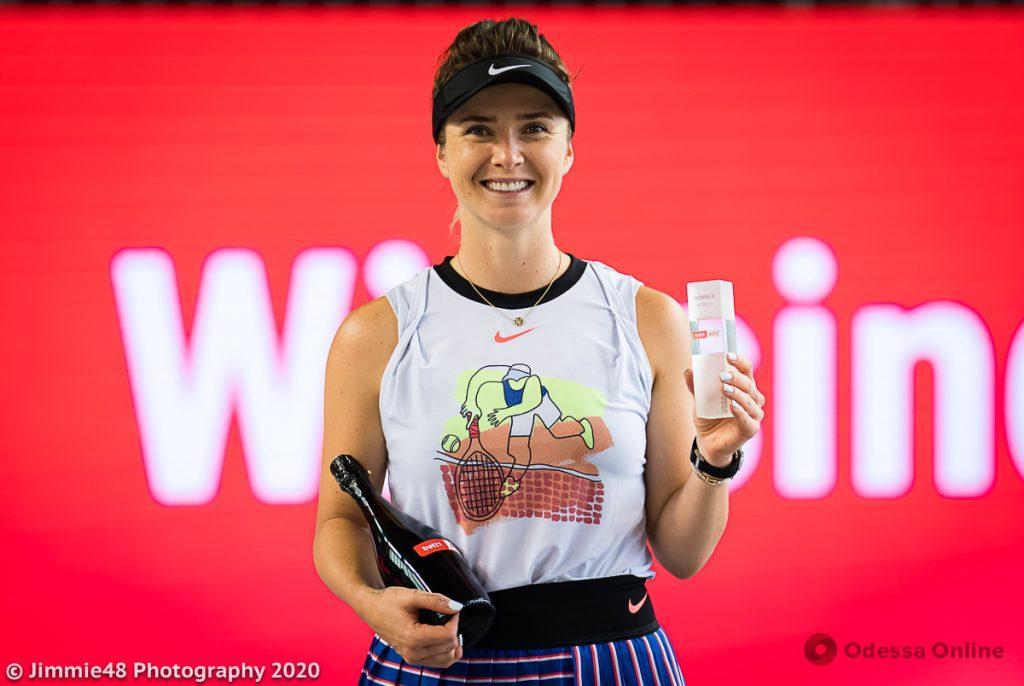 Одесская теннисистка преодолела отметку в 20 миллионов долларов призовых