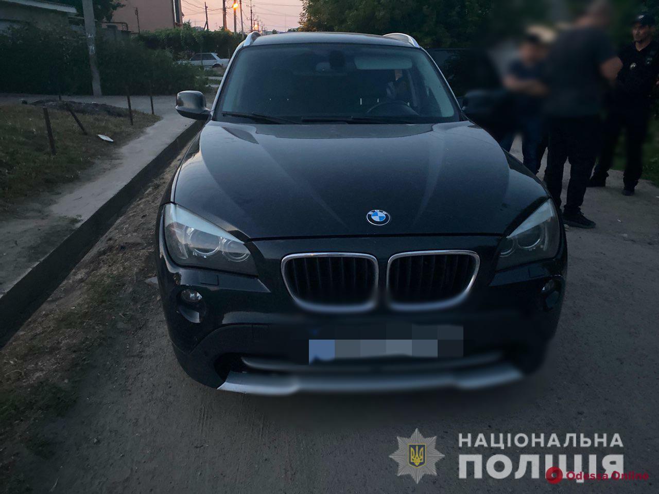 В Одессе поймали автовора-рецидивиста