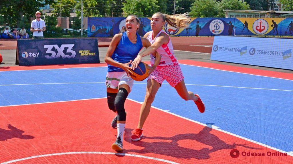 Одесситки стали победителями домашнего тура чемпионата Украины по баскетболу 3х3