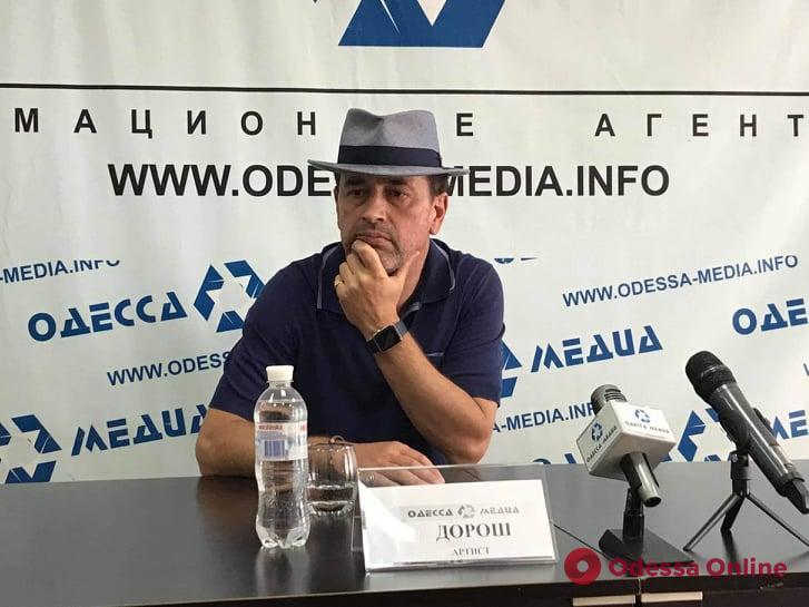 «Все мои песни – это моя жизнь», — на одесском Морвокзале состоится живой концерт певца Дороша
