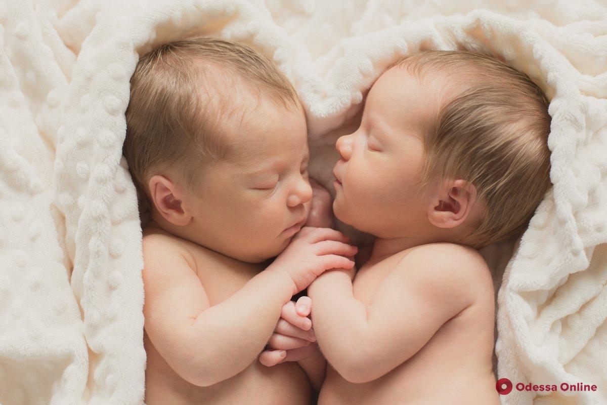 На прошлой неделе в Одессе родились две пары близнецов