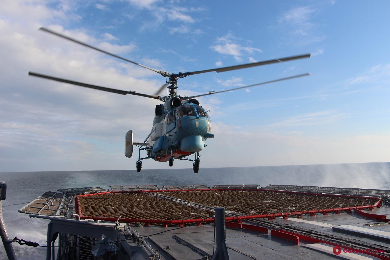 В акватории Черного моря стартовали украинско-американские учения «Си Бриз»
