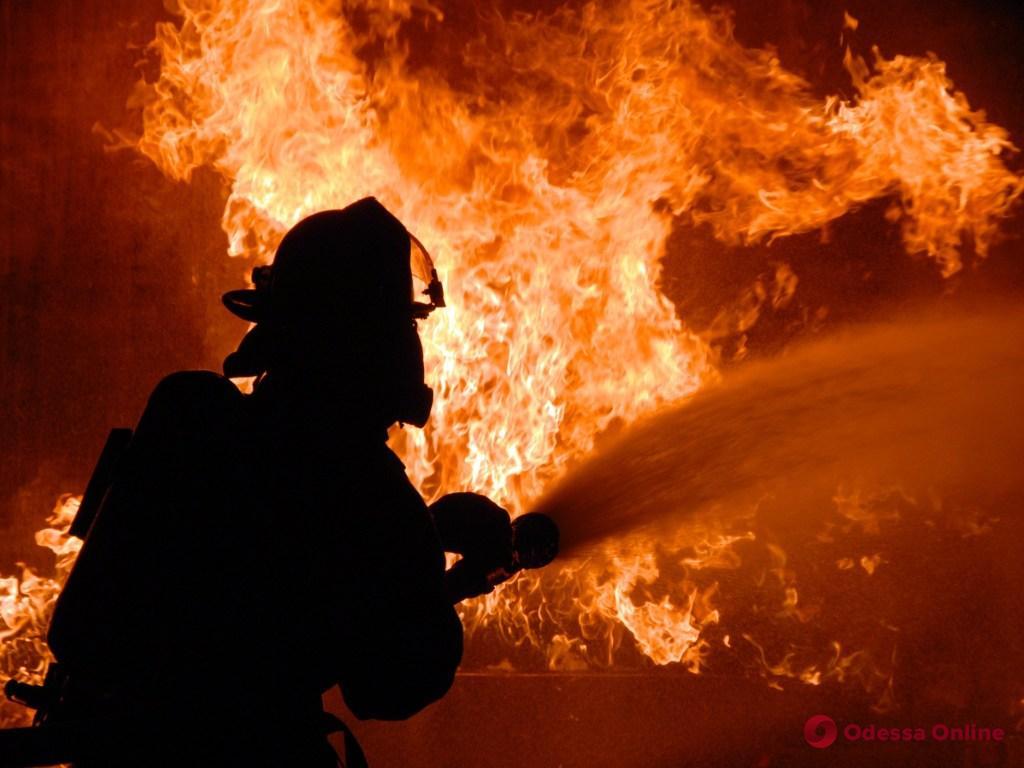 В Одесской области во время пожара в частном доме пострадал мужчина