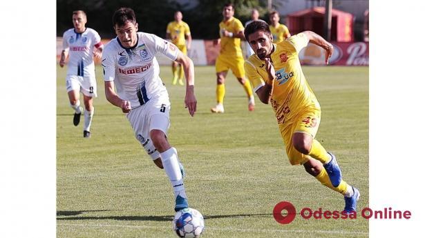 Футбол: «Черноморец» не забил лидеру первой лиги