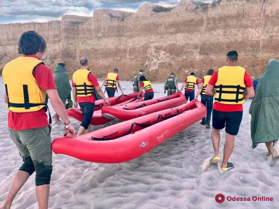 В Одесской области спасли пятнадцать байдарочников и серферов