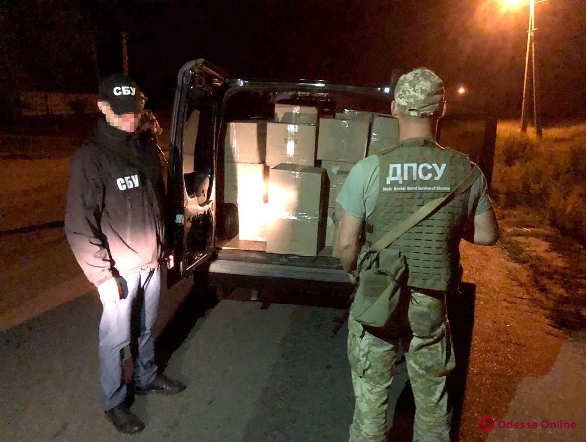 В Одесской области пограничники поймали сигаретного контрабандиста