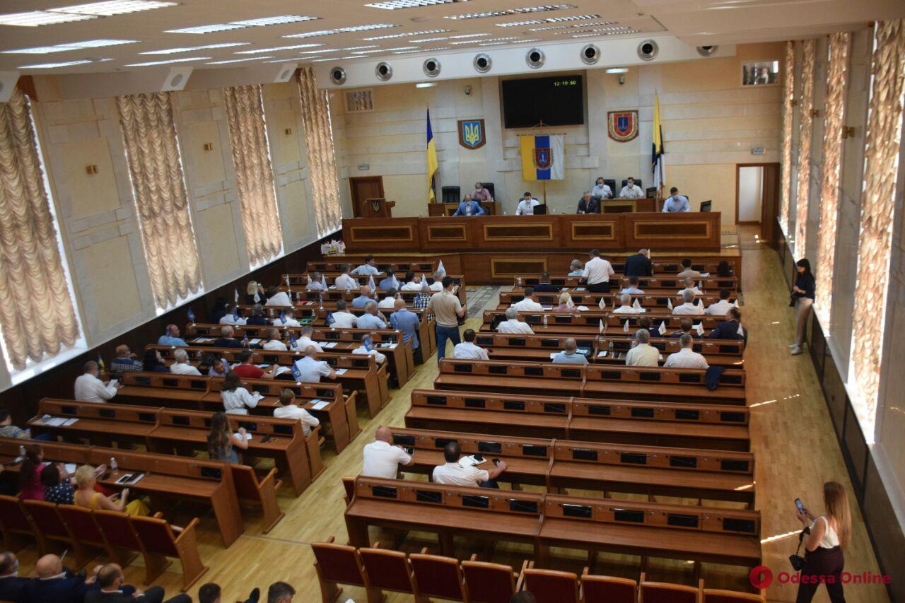 Облсовет просит правительство увеличить количество районов в Одесском регионе