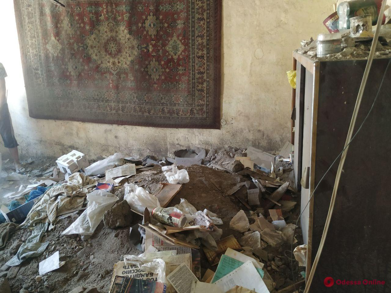 В доме на Манежной произошло новое обрушение (фото, видео, обновлено)