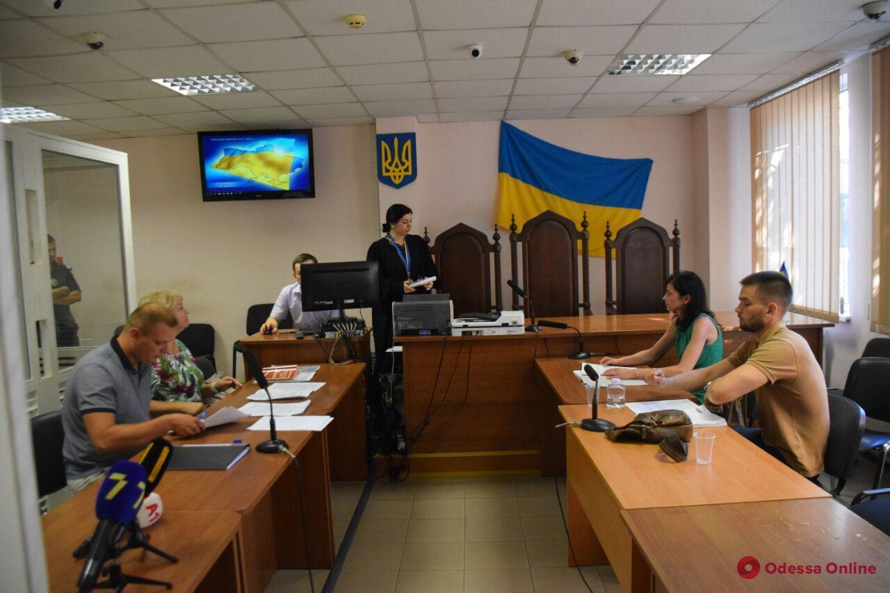 Одесский суд отправил в СИЗО без права на залог мужчину, который сбил насмерть десятилетнюю девочку