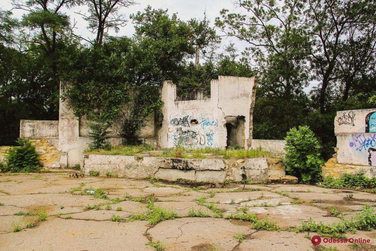 Парк Савицкого – непопулярный, но не забытый (фоторепортаж)