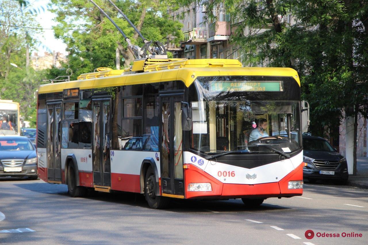 В Одессе изменится схема движения троллейбусов по маршруту №14