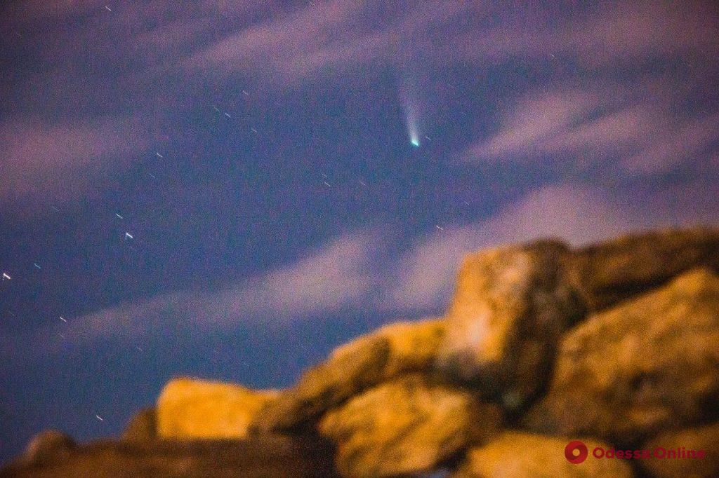 Ночной Куяльник и комета Neowise (фоторепортаж и видео)