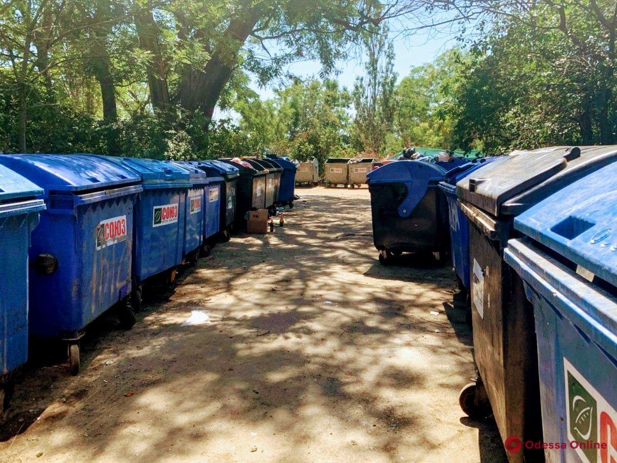 В мэрии прокомментировали ситуацию с площадкой для сбора мусора возле катакомб в Аркадии