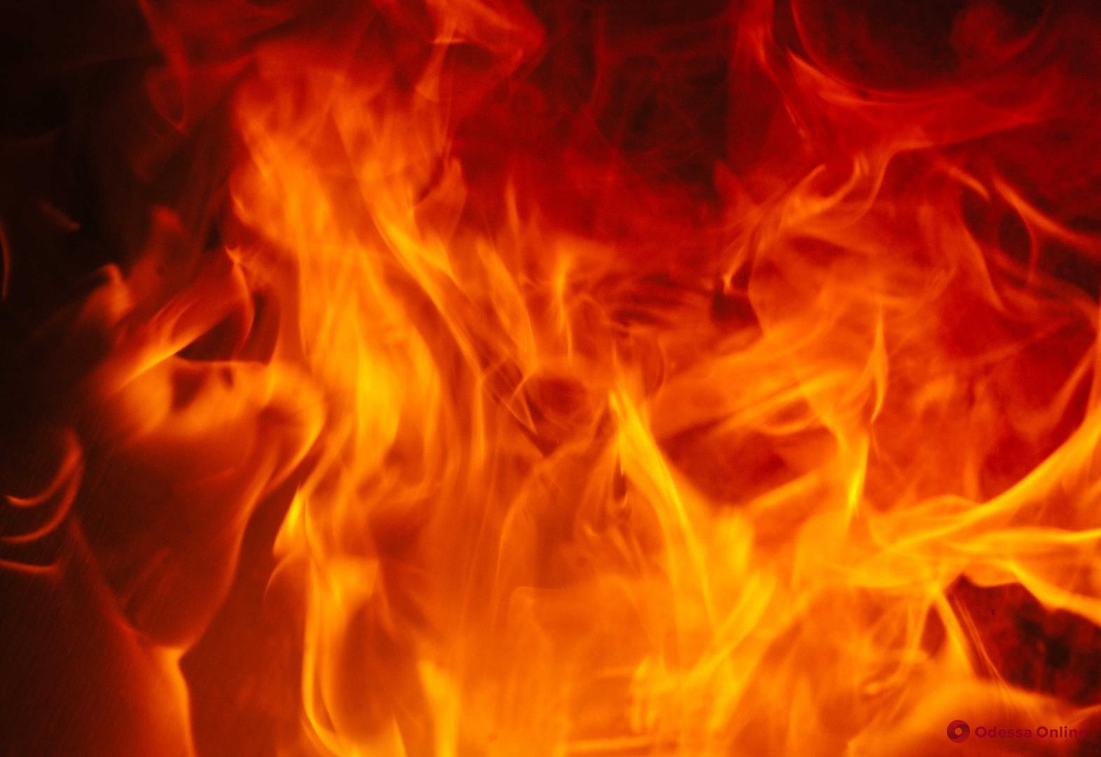 На Пересыпи во время пожара погиб мужчина