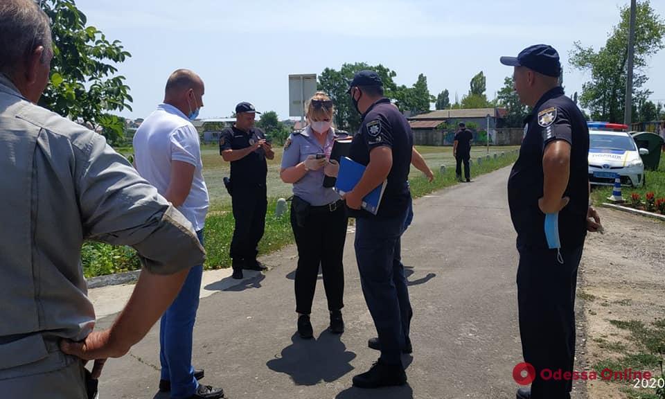 В Одессе рейдеры пытались захватить аэродром «Гидропорт»