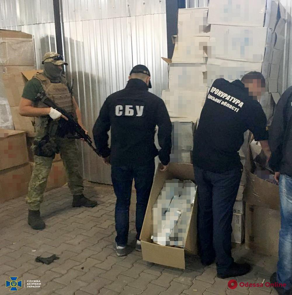 В Одесской области блокировали контрабанду сигарет с многомиллионным оборотом