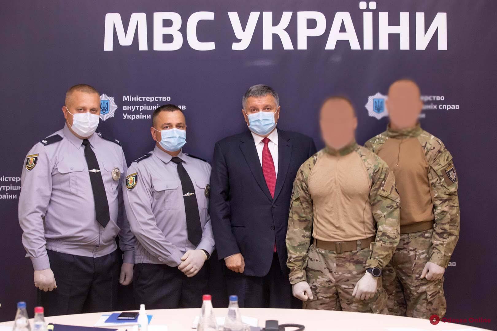 Полицейским вручили награды за ликвидацию «полтавского террориста»