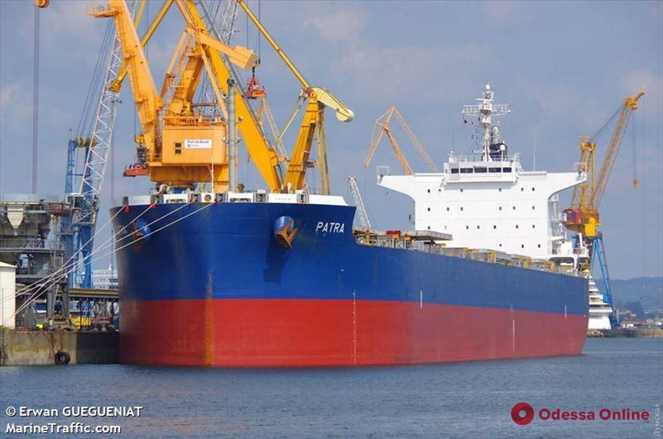 В порт «Южный» зашел греческий сухогруз – у 11 членов экипажа подтвердился Covid-19