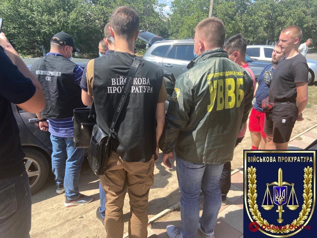 В Одесской области на взятке погорел пограничник