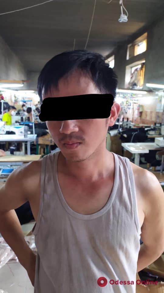 В Одессе обнаружили вьетнамцев-нелегалов с высокой температурой