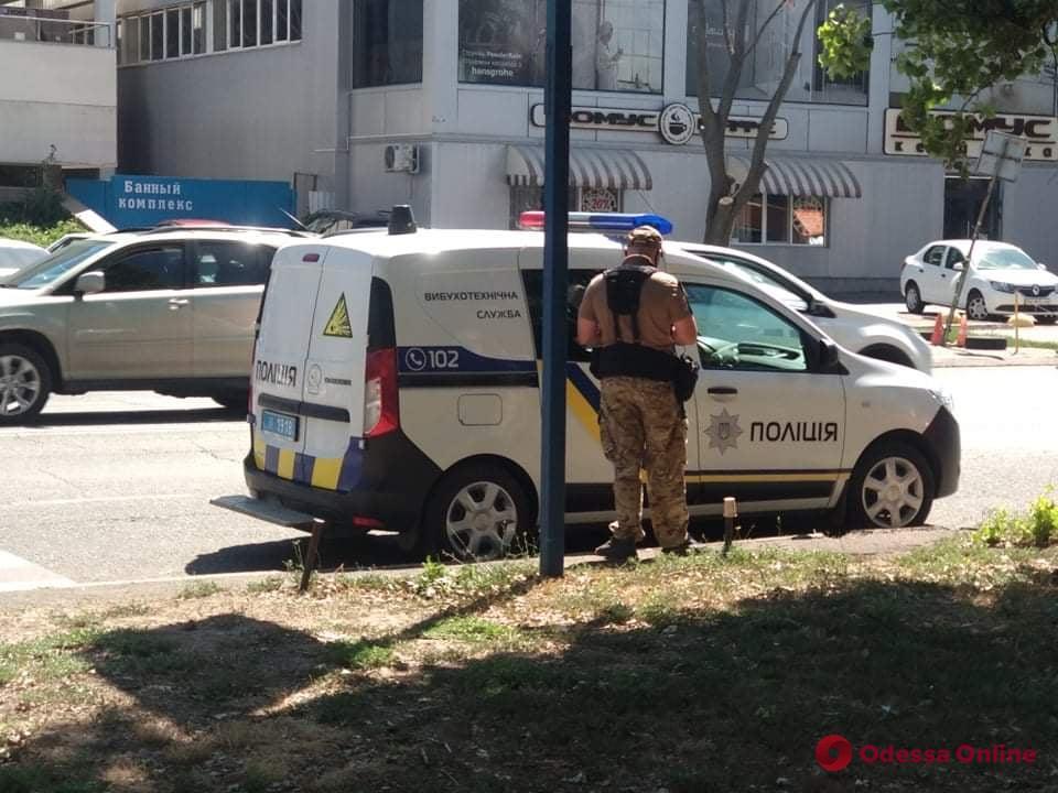 В Одессе ищут бомбу в Апелляционном суде