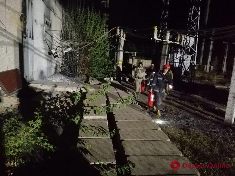 Одесса: пожар на территории НПЗ охватил 500 квадратных метров