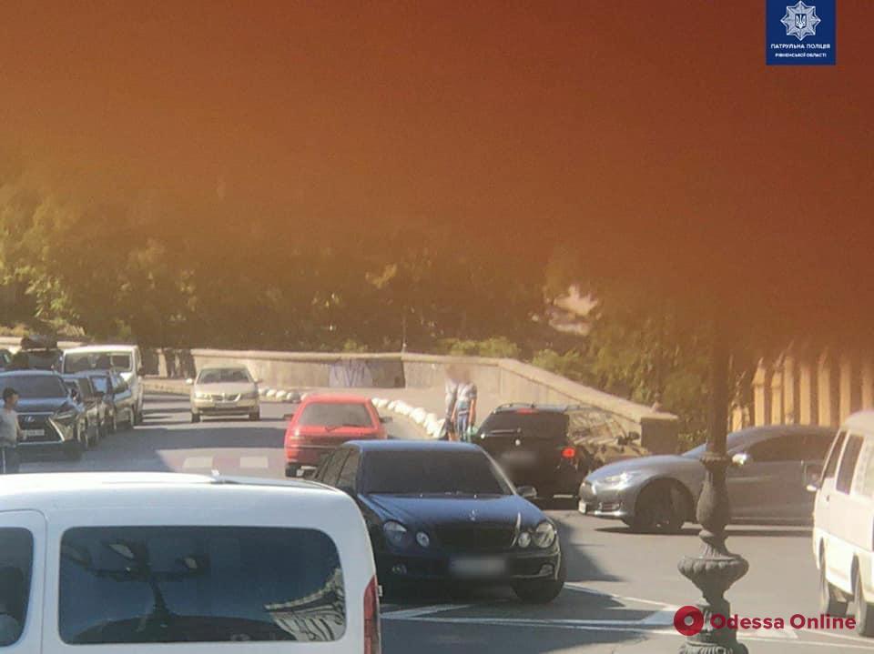 В центре Одессы произошла стрельба (фото)