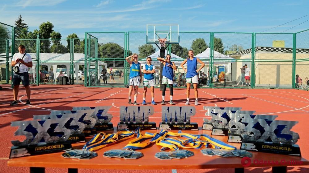 Одесские «Устрицы на карантине» выиграли этап чемпионата Украины по баскетболу 3х3