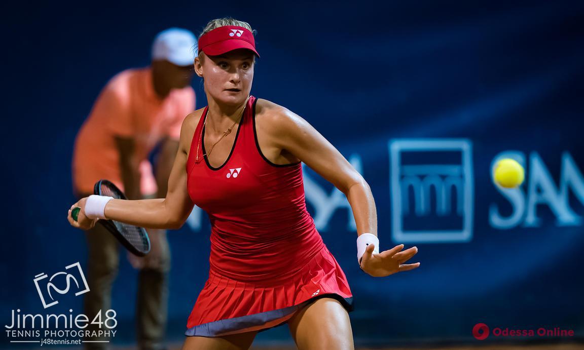 Одесская теннисистка организовала невероятный «камбэк» в Палермо
