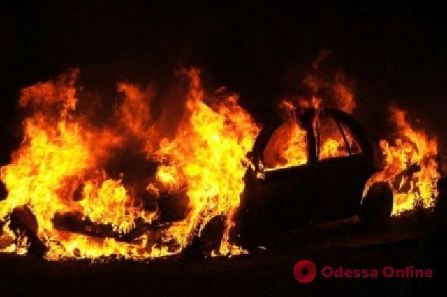 В Одессе ночью сгорел автомобиль
