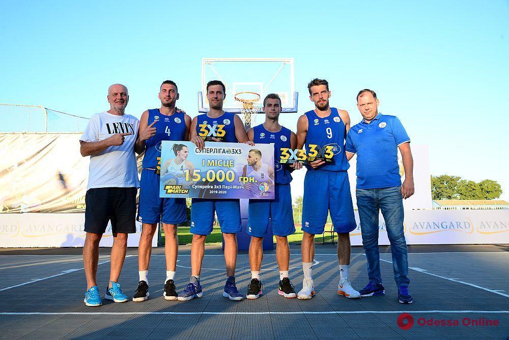 Одесские команды завоевали медали украинской Суперлиги по баскетболу 3х3